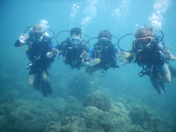 Scuba diving lessons in andaman
